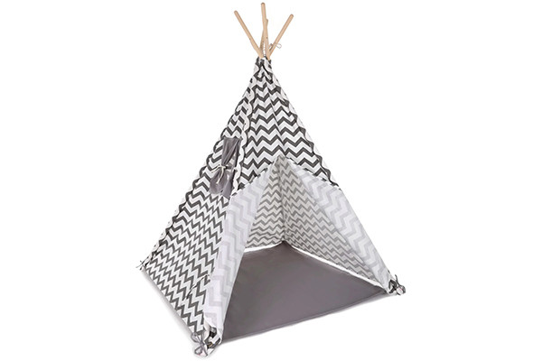 Tipi tent Bandits Indian grijs