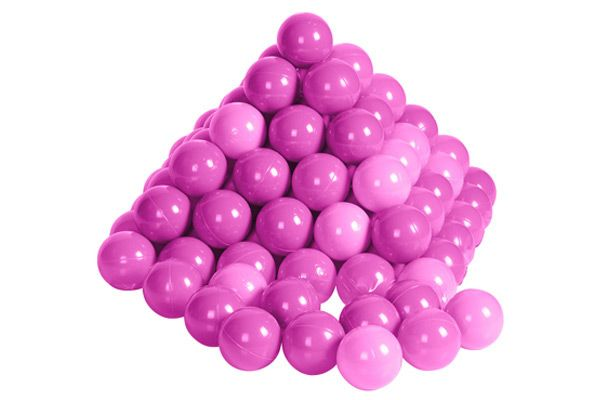 200 roze ballen in net