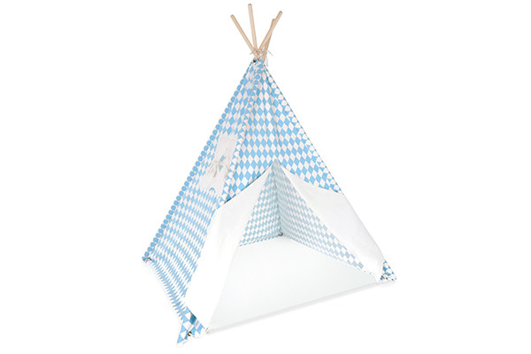 Tipi tent Diamond Edition Blue